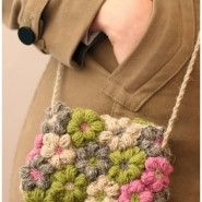 Crochet)코바늘 꽃 파우치/크로스백 안녕하세요.토리입니다. 오늘 새롭게 보여드릴 자료는 꽃 파우치 입니...