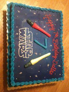 - Star Wars Cake.