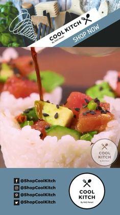 #delish #meal #foodlover #food #instafood #foodie #yummy #salmon #sushilovers #sushiroll #sushibar #sashimi #fresh #sushirolls #sushinight #foodgasm #nigrisushi #foodpic #sushilover #amazing #foodstagram #yum #eat #hungry #sushi #shopcoolkitch Salmon Recipe Videos, Salmon Recipes, Sushi Recipes, Healthy Recipes, Ahi Tuna Poke, Healthy Sushi, Sushi Night, Salmon Sashimi, Sushi Bowl