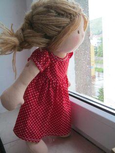Waldorf Puppe Waldorf inspiriert SteinerPuppe BioPuppe von bemka