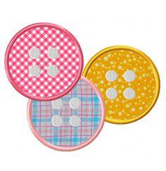Buttons-2  EmbroiderOcean Design