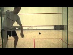 Squash Solodrill 10: improve your deep backwall shots: advanced - YouTube