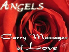 Angels carry messages of love