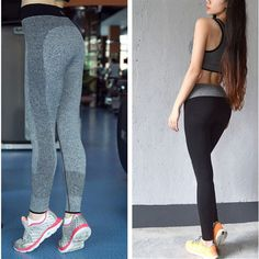 Fitness Yoga Pants Women Sport Leggings Running Pants Women Sportswear For Fitness Jogging Femme Calzas Deportivas Mujer Fitness #CLICK! #clothing, #shoes, #jewelry, #women, #men, #hats, #watches