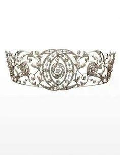 Chaumet diamond tiara c. 1890