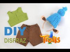 #Colaboración DIY: Disfraz de Trolls para Niños (en todas las tallas) | Oh, Mother Mine DIY!!