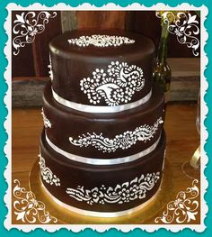23 Best Henna Cakes Images Deserts Beautiful Cakes Cookies