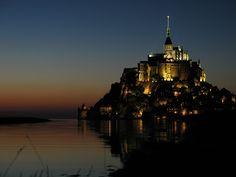 Le Mont Saint Michel – Crepuscolo