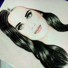 #drawing by Manoela Cardoso #KatyPerry