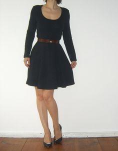 Kleid Kurzkleid Dunkelblau mod Rockabella Feier Herbst Winter Gr. 38 dichter Jersey navy - kleiderkreisel.de