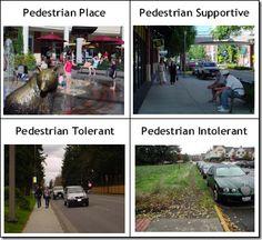 Degrees of pedestrian friendliness  e quando até o campus de uma faculdade é pedestrian intolerant?