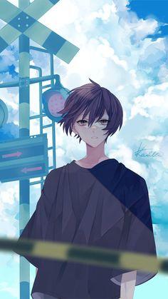 ザイ - Everything About Anime Dark Anime Guys, Cool Anime Guys, Anime Oc, Cute Anime Boy, Anime Kawaii, Cute Anime Character, Character Art, Persona Anime, Estilo Anime