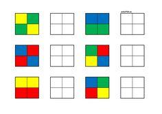Página 1 de 4 Preschool Learning Activities, Motor Activities, Preschool Activities, Kids Learning, Visual Perception Activities, Montessori Materials, Lego Duplo, Pattern Blocks, Toddler Activities