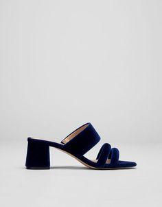 :Sandalia noche azul