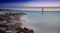 Glenelg Beach Sunset. Adelaide, South Australia.