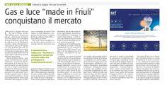 Ecco l'articolo di oggi su Udine Economia che parla di tutte le nostre novità. Scoprite il mondo Sky Gas & Power