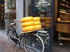 Bisiklet, peynir ve Amsterdam