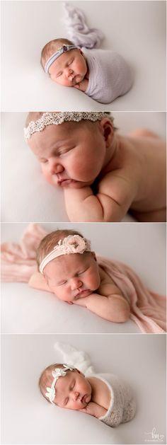 Newborn Photography Props, Newborn Photographer, Photography Ideas, Baby Girl Poses, Baby Girl Newborn, Matching Pjs, Baby Sister, Three Kids, Lifestyle