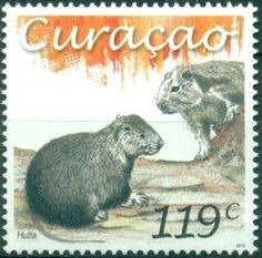 Stamp: Hutia (Curaçao) (Fauna - Mammels) Mi:CW 328