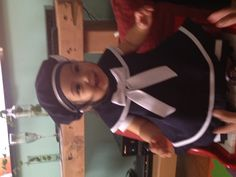 My sailor girl on Red piano