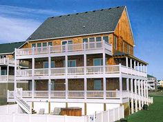 This is where we stayed on a trip to the OUTER BANKS of NC, and the view of the sound side was beautiful (sunsets were so pretty). Wonderful spot to visit and easy access to all attractions.
