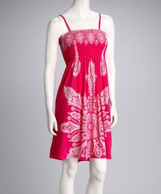 india boutique sundresses | ... Fuchsia Bandanna Sundress - Women by India Boutique on #zulily today