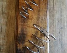 wall mounted wine rack with bed spring holders