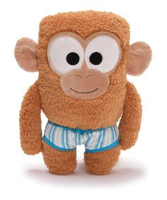 Take a look at this Monkey Bear in Underwear Plush Toy by GUND on #zulily today!
