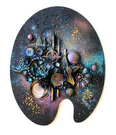 ART ALCHEMY WAXES Beautiful, metallic, wax-based paste which will turn your artwork into a real treasure while adding amazing, rich, metal- like finish to most surfaces and elements. Great for applying with your fingers, sponges, and soft cloths. Perfect for adding color and finishing touches to mixed-media and home décor projects. Metallique Wax has a permanent finishing cover giving you great, color-filled, shiny results on dark and light backgrounds. Archival safe. Non- toxic.