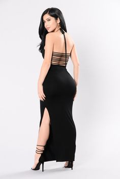 I absolutely love this dress! Be My Guest Dress - Black