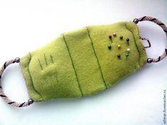 Изготовление сумочки-игольницы - Ярмарка Мастеров - ручная работа, handmade Pin Cushions, Cross Stitch Patterns, Needlework, Coin Purse, Wallet, Charts, Pouch, Handkerchief Dress, Embroidery