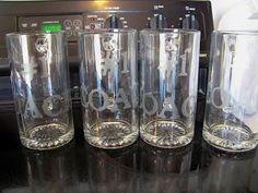 DIY Home Decor DIY Glass Etching