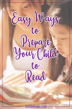Discover exactly what to say and do to make reading readiness EASY and FUN for your child.