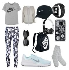 """""""sportswear#vol2"""" by efsi on Polyvore featuring Mint Velvet, NIKE, Samsung, Beats by Dr. Dre and adidas"""
