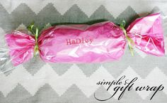 Simple gift-wrap