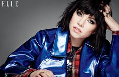 Carly Rae Jepsen is the cover girl for ELLE Canada's August 2015 issue.