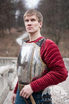 "Western Plate Cuirass 9 Segments Breastplate ""The King's Guard"""