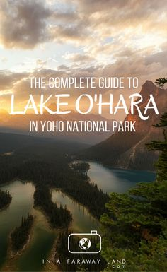 Practical guide for visiting Lake O'Hara in the summer including the best photography locations, hiking tips, trail maps, booking information, packing guide and more. food gear meals tips Appalachian trail gear gear tips backpacking camping Yoho National Park, Us National Parks, Rocky Mountain National Park, Hiking Guide, Hiking Gear, Hiking Backpack, Camping Gear, Columbia Outdoor, Canadian Travel