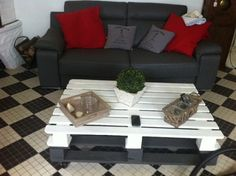 Petits meubles en palettes de récup'... - Lila sur sa Terrasse