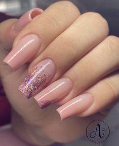 Elegant Nails, Classy Nails, Trendy Nails, Nude Nails, Pink Nails, My Nails, Nail Art Designs Videos, Nail Designs, Cute Halloween Nails