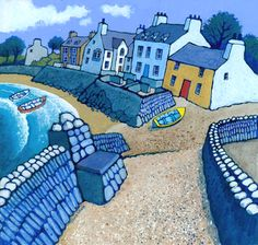 Chris Neale Studio - signed limited edition art prints and original artwork Graphic Eyes, Homemade Art, English Artists, Naive Art, Print Artist, Linocut Prints, Map Art, Illustrations, Les Oeuvres