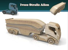 Making Wooden Toys, Handmade Wooden Toys, Wooden Diy, Wood Car, Electric Hand Drill, Wooden Toy Trucks, Wood Toys Plans, Wood Games, Toys Shop