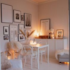 Room Design Bedroom, White Furniture, White Decor, Cozy House, Beautiful Homes, Interior Decorating, Sweet Home, Living Room, Chair