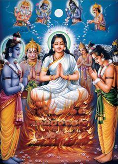 Sita #deviyogaforwomen deviyogaforwomen.com