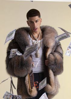 The Rap Game, Cute Rappers, Much Music, Mens Fur, Fox Fur Coat, Cute Actors, Boys Wear, Baby Daddy, Asian Boys