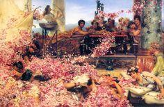 heliogabale | Sans doute l'oeuvre la plus connue de Sir Alma Tadema, peintre de la ...