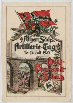 "SEBNITZ - ""9.SÄCHSISCHER ARTILLERIE-TAG1938"","