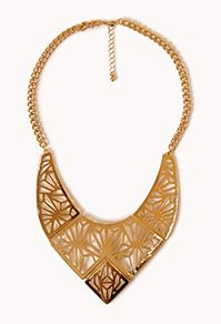 Cutout Geo Bib Necklace, Dot through StuffDOT & earn rewards!