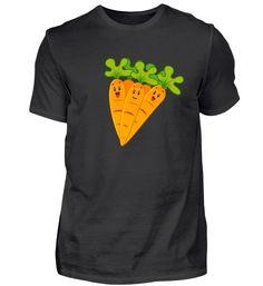 Karotten mit lachenden Gesichtern T-Shirt