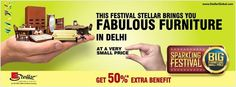 This festive season bring home the #FabulousFurniture at very small price.  Visit the nearest Stellar Furniture store to avail great offers at the #SparklingFestival. For details on the range of Furniture available visit: www.StellarGlobal.com